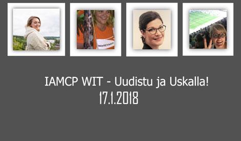 IAMCP WIT -tapahtuma 17.1.2018