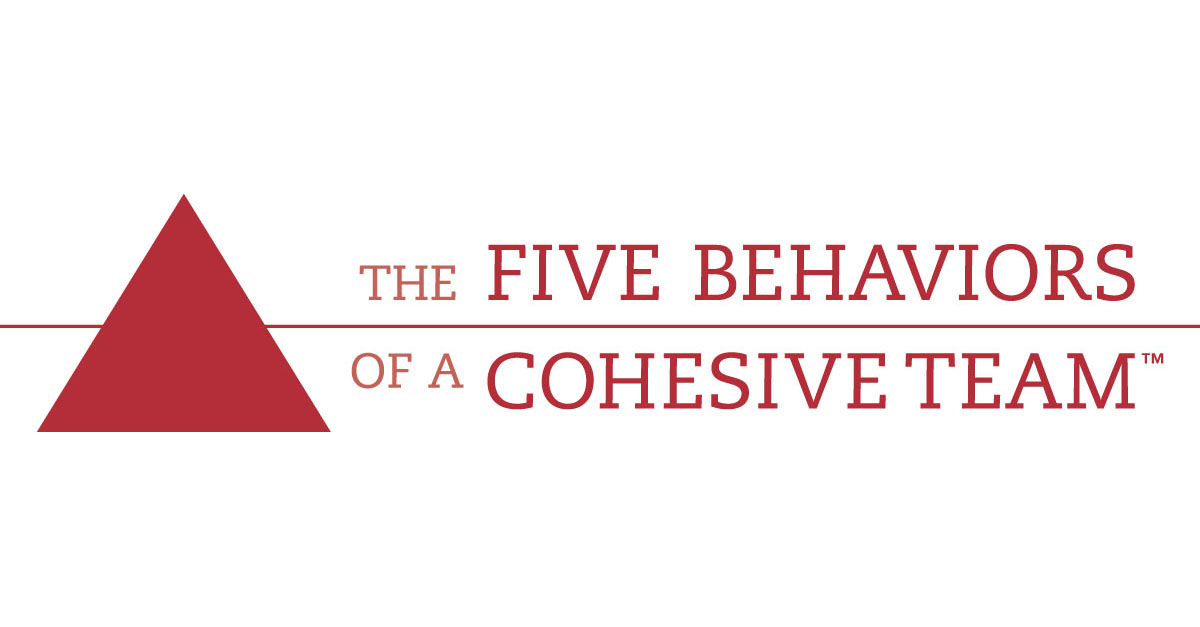 The five behaviors of a cohesive team -logol