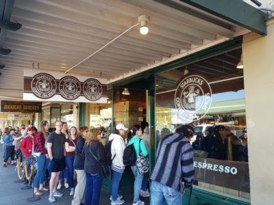 Ensimmäinen Starbucks kahvila