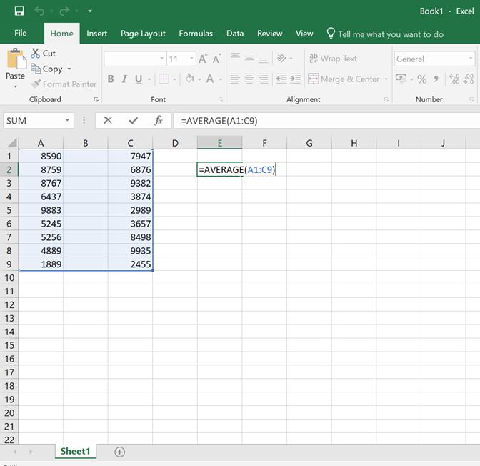 Excel keskiarvon laskeminen