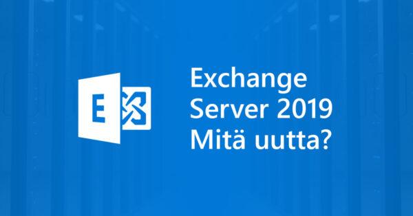 Microsoft Exchange Server 2019 on valmistunut