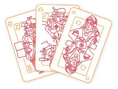 kolme korttia