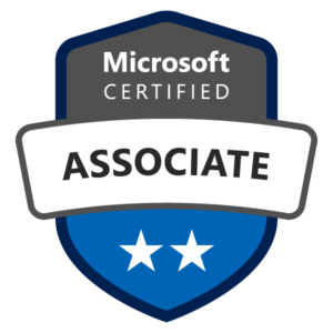 Microsoft Certified Associate Badge