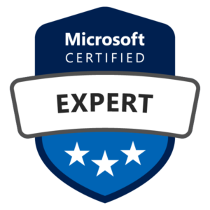 Microsoft Experts Sertificate Badge