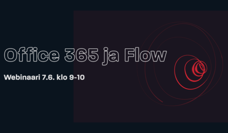 Webinaaritallenne: Office 365 ja Flow