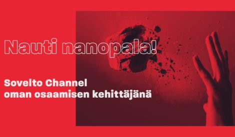 Webinaari: Nauti nanopala! – Sovelto Channel oman osaamisen kehittämisen välineenä
