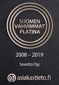 Suomen vahvimmat Platina 2008-2019