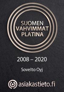 Suomen vahvimmat Platina 2008-2020