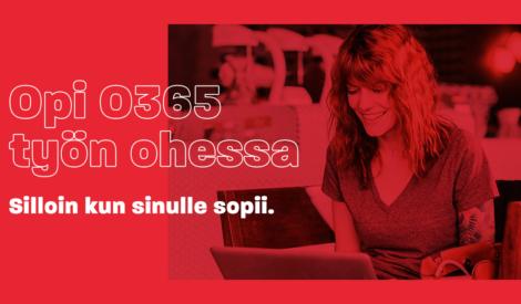 Etsitkö organisaatiollesi Office 365 -koulutusta?