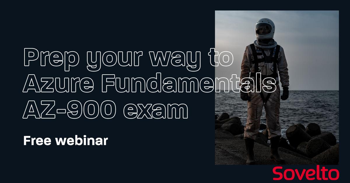 Webinar: Prep your way to Azure Fundamentals AZ-900 exam