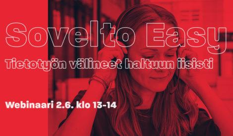 Webinaari: Sovelto Easy – Tietotyön välineet haltuun iisisti 2.6.2020