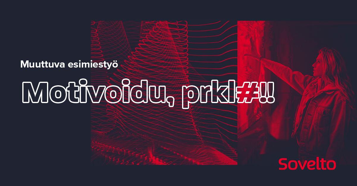 Webinaari: Motivoidu, prkl#!!